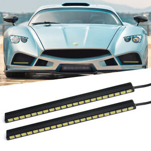 Daytime Running Light 2x 21led Car Drl Bright Driving Fog Day Head Lamp Ma138