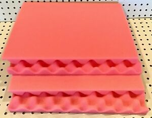 Pink Anti static Convoluted Foam Sets Corstat Egg Crate Esd Safe 12 Sets