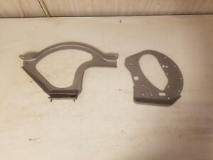 Plymouth 218 6cly Front Engine Motor Mount Front Cover Plate Support Bracket