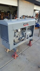 Lincoln Electric Sa 200 F 162 Red Face Pipeliner