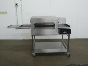 Lincoln 1132 Electric Conveyor Pizza Sandwich Oven Convection Stand Middleby