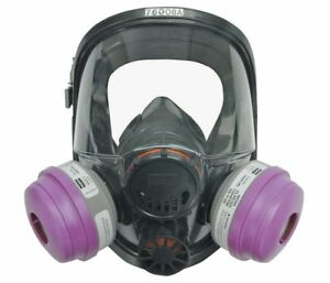 North Full Face Respirators 7600 Series Size M l With P100 Particulate Filters
