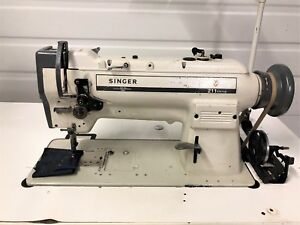 Singer 211a567ab Walking Foot Big Bobbin Reverse Industrial Sewing Machine