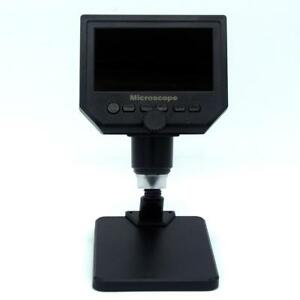 600x 4 3 Lcd 3 6mp Electronic Usb Digital Video Microscope 8 Led Vga Magnifier