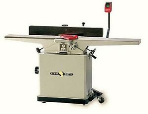 Steel City Tool Works 8 Long bed Industrial Jointer 2hp 10 5 Amp 220 V 1 Phase
