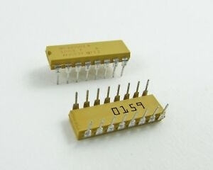 Lot Of 48 Vishay Dale M8340102k1003fa Military Network Resistor 100k Ohms 1 6w