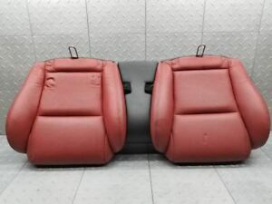 2004 2006 Pontiac Gto Back Rear Red Bucket Seats Cushions Lower Skin No Tears