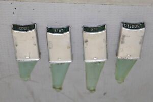 1964 Plymouth Fury Pushbutton Dashboard Buttons Oem Mopar Chrysler Four 4