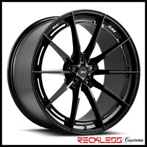 Savini 20 Svf 01 Black Concave Wheel Rims Fits G11 G12 Bmw Alpina B7