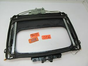 02 06 Acura Rsx Sunroof Sun Roof Track Panel Guide Glass Rail Top Bar Moon Oem