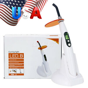 Usa Woodpecker Style Dental Led b Curing Light Cure Lamp Strong