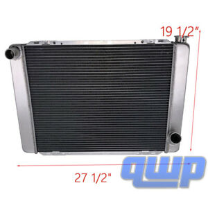 Gm Chevy Style 27 X 19 Race Radiator All Aluminum Universal Street Hot Rod