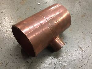 3 X 3 X 1 Copper Tee Solder Plumbing Pipe Fitting