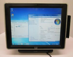 Hp Ap5000 Pos Touchscreen Core 2 Duo 2 80ghz 3gb Ram 80gb Hdd Sm612up aba Gradec
