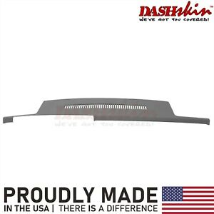 Dark Grey Molded Dash Skin Cover Overlay 88 94 Chevy Gmc Truck C1500 K1500