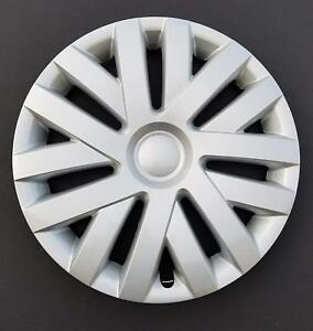 One New Wheel Cover Hubcap Fits 2010 2014 Volkswagen Jetta 16 Silver