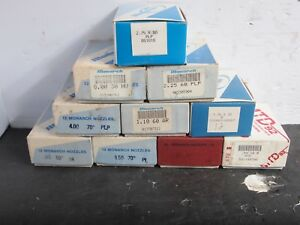 Lot Of 120 Monarch Oil Burner Nozzles New In Box 10 Different Sizes Fuel Furnace