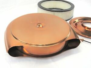 1951 1956 Cadillac Oldsmobile Retro Style Air Cleaner In Copper