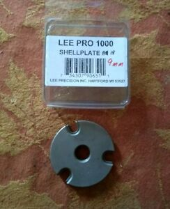 * LEE PRO 1000 SHELL PLATE #19 * 9mm