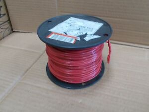 14 Awg Thhn Thwn Electric Wire 500 Spool Stranded Red