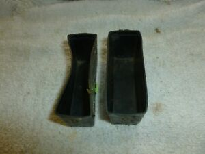 1967 1968 Mustang Console Seat Belt Cup Liner Antirattle Rare Oem Ford 67 68 A