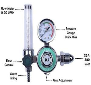 Mod Complete Argon Regulator With Flowmeter Tig Welder Mig Welding Co2 Regulator