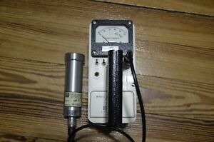 Biodex Branded Ludlum Model 3 With 44 7 Detector Geiger Counter survey Meter
