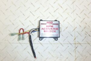 Msd Rpm Activated Switch Sbc Bbc Sbf Bbf Mopar Ford Chevy Pontiac