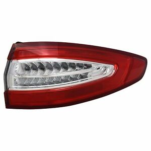 For 2013 2016 Ford Fusion Rh Right Passenger Taillamp Taillight S se Outer