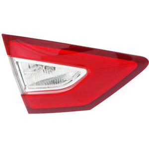 For 2013 2016 Ford Fusion Lh Left Driver Taillamp Taillight S se Inner