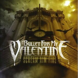 Bullet for My Valentine Scream Aim Fire New CD Holland Import $7.88