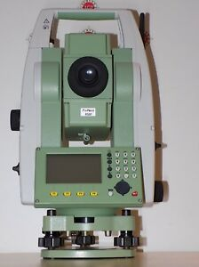 Leica Total Station Ts06 Plus R500 Calibrated Free Shipping Worldwide