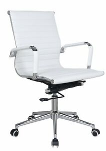Classic Replica Mid Back Office Chair Stabilizing Swivel Bar And Knee Tilt Wit