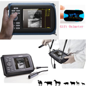 Usa Veterinary Medical Animals Ultrasound Scanner Machine Rectal Probe spo2 Free