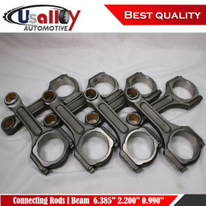 Suits Chevy Bbc 454 I Beam 6 385 2 200 0 990 Bronze Bush 5140 Connecting Rods
