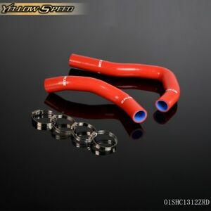 Silicone Radiator Hose Red For Honda Integra Type R X S Is Dc5 Acura Rsx K20a
