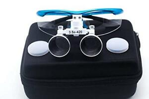 Dental Medical Magnification 3 5x Surgical Binocular Loupes Optical Glass Loupe