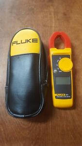 Fluke 323 Clamp Meter With Case Leads