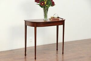 Hepplewhite 1790 Antique Mahogany Hall Console Table Or Server 29763