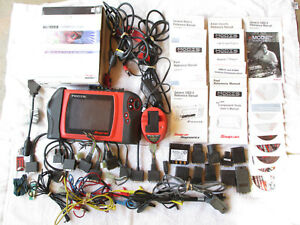 Snap On Modis Eems300 Diagnostic Scanner European Import Software Lots Of Extras