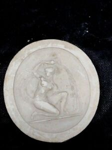 19th Century Grand Tour Intaglio Tassie Seal 1 3 4 In Original Woman Nude