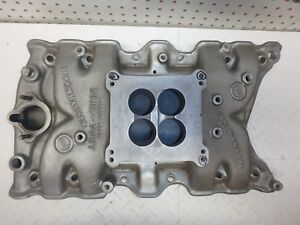 Small Block Oldsmobile Offenhauser Duel Port 360 Intake Manifold 350