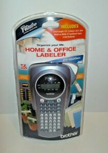 Brother P touch Home Office Handheld Labeler Pt 1000bm Label Maker Tapes New
