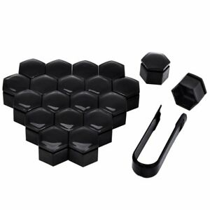 22mm 20pcs Wheel Nut Covers Wheel Lug Nut Bolt Cap Dust Cover Tool Fit For Regal