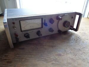 Vintage Hp 333a Distoration Analyzer