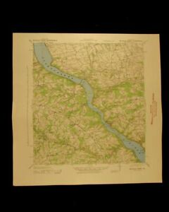Mccalls Ferry Pennsylvania Vintage 1943 Original Usgs Topographical Chart