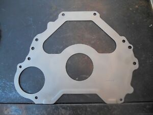 1969 Ford 351w Fmx Bellhousing Engine Block Spacer Plate