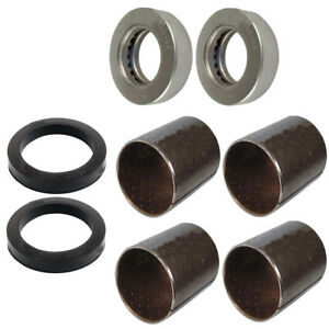 Front Axle Spindle Bushing Bearing Kit Fits Ford Fordson Major Power Super Major