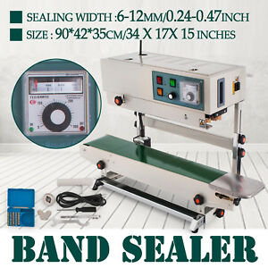 Fr900 Automatic Sealing Machine Food Pharmaceutical Continuous Band Sealer