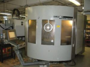 Deckel Dmg Model Dmu 80t Full 5 axis Simultaneous Cnc Vertical Machining Center